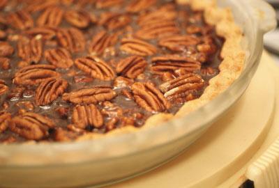 Ricki Heller's Chocolate Pecan Pie