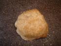 cinnamon roll dough ball