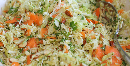 asian cabbage slaw