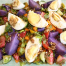 garden egg salad