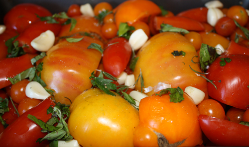 tomatoesinpan