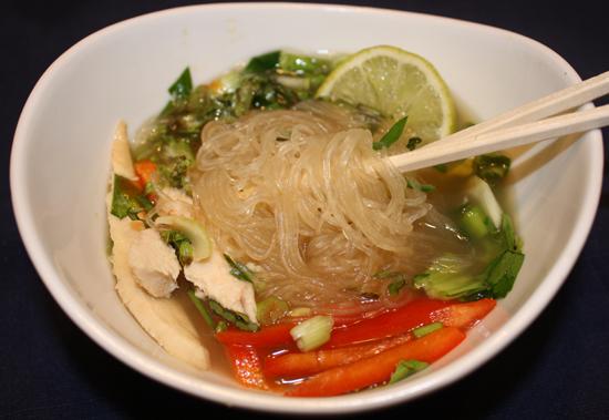 Vietnamese Pho Ga for the October Daring Cooks Challenge