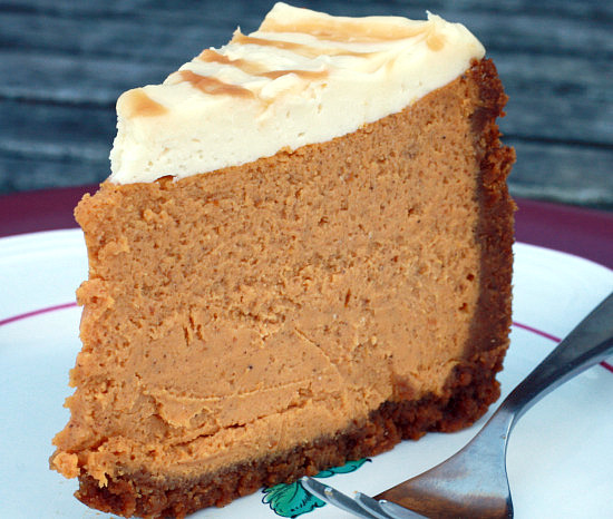 ... The Village Tea Room's Pumpkin Cheesecake - Healthy Green Kitchen