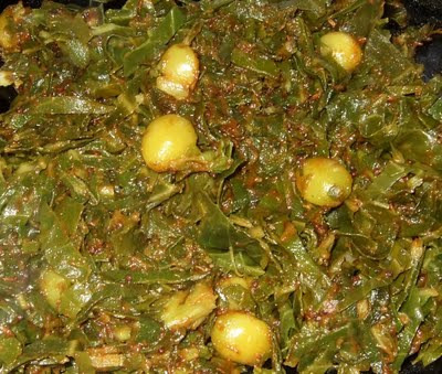 ginkgo+nuts+with+collards