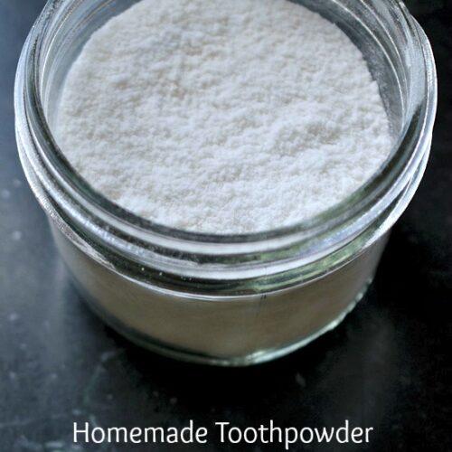 Homemade Toothpowder   Healthy Green Kitchen