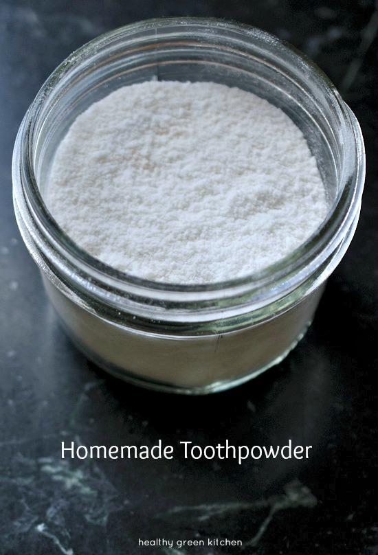Homemade Toothpowder | Healthy Green Kitchen