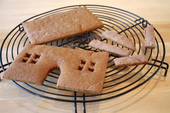 gingerbread house | www.healthygreenkitchen.com