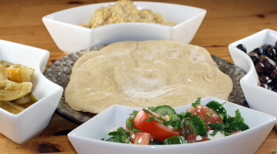 My Mezze for the Daring Cooks Challenge
