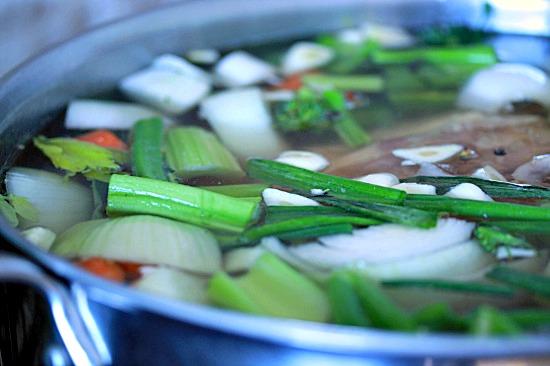 Making Chicken Stock   Healthy Green Kitchen