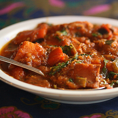 Healthy Green Kitchen Brazilian Salmon and Sweet Potato Stew