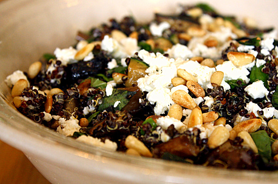Healthy green kitchen black quinoa salad with grilled vegetables quinoa is a nutritious seed that comes from the andes region of south america while it cooks like a grain it is actually more nutritious than most grains forumfinder Gallery