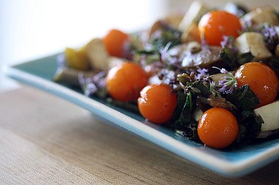 anise hyssop salad
