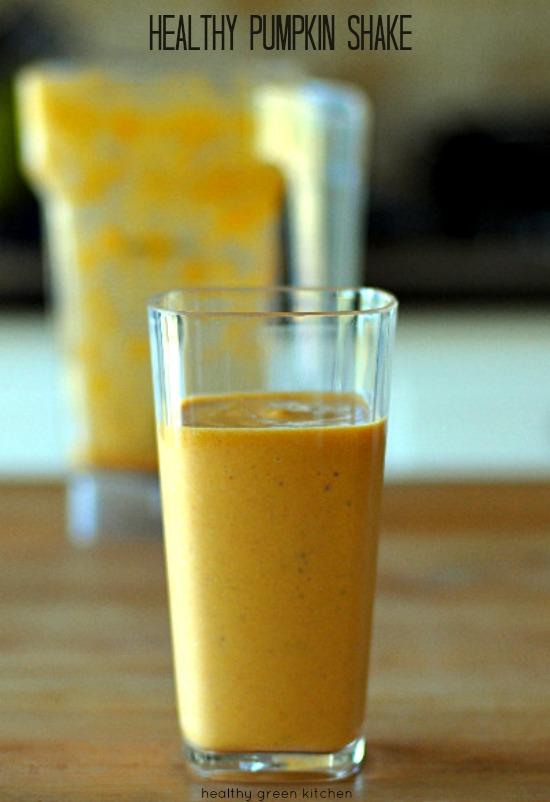 Pumpkin Shake | Healthy Green Kitchen