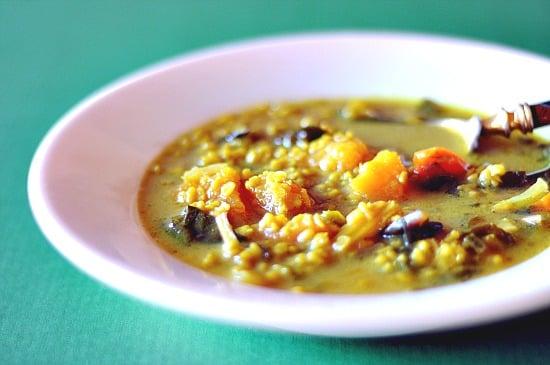 Mung Bean Stew with Butternut Squash | healthy green kitchen