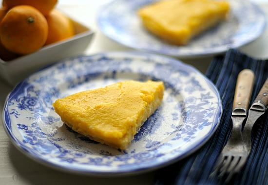 gluten free Meyer lemon pie