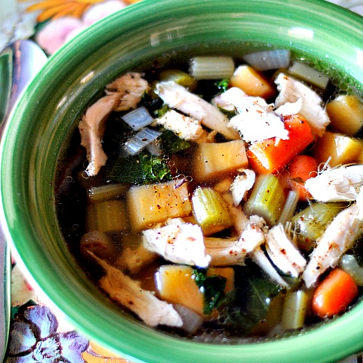 chicken soup photo