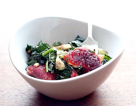 orange kale salad 2