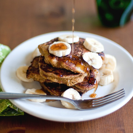 Healthy Green Kitchen Coconut Banana Pancakes (Gluten-Free)