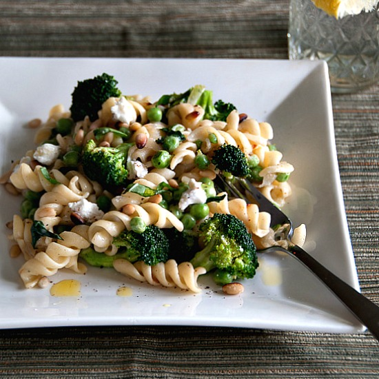 Pasta With Broccoli, Goat Cheese, And Oregano Recipes — Dishmaps