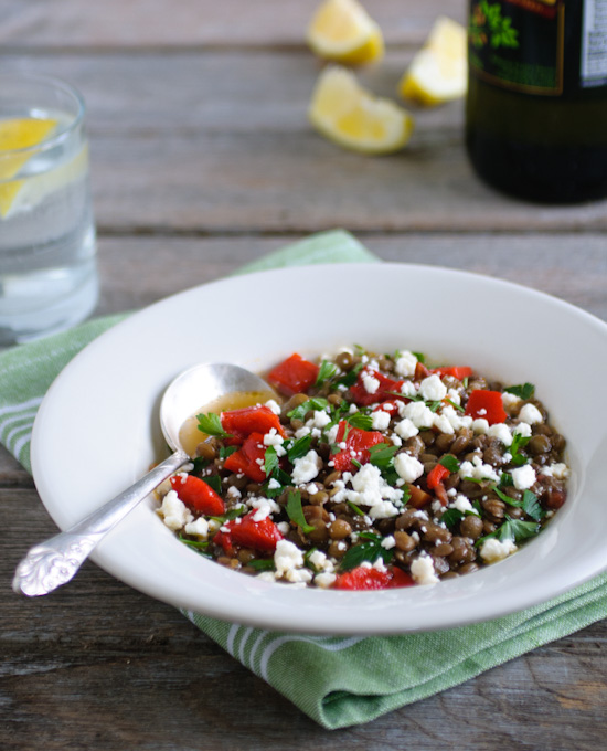 Greek Lentil Soup   www.healthygreenkitchen.com