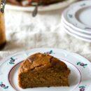 pumpkin cake slice 2