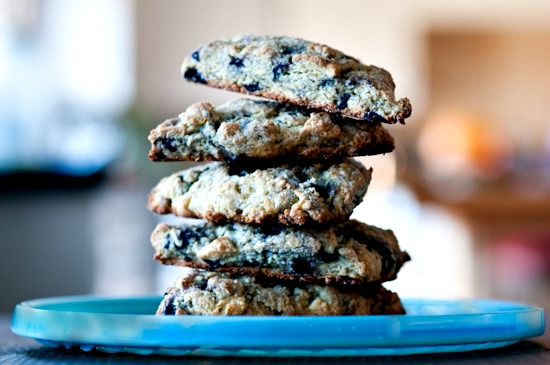 Pam Anderson Blueberry Scones