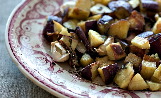 Healthy Green Kitchen Cinnamon Roasted Sweet Potatoes and Garlic from ...