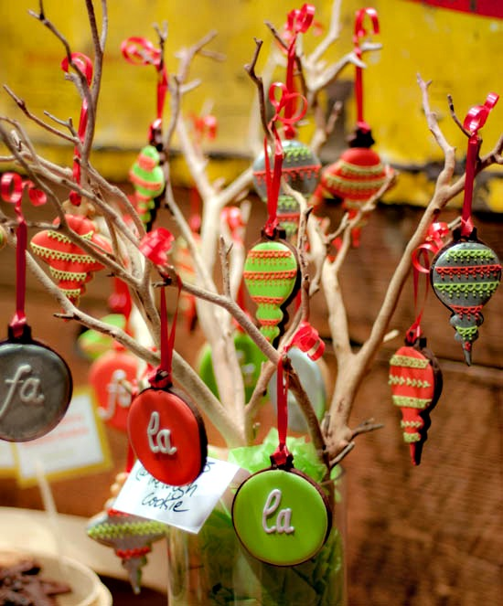 The Tough Cookie ornament cookies