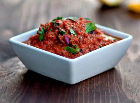 roasted red pepper dip