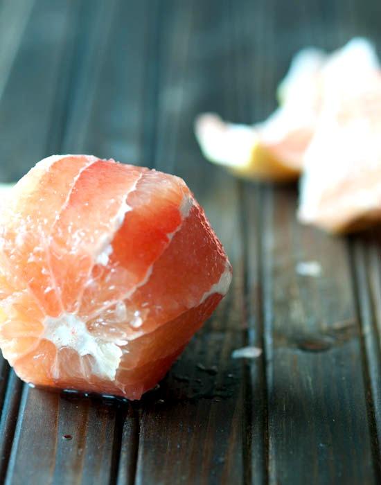 peeledsss pink grapefruit