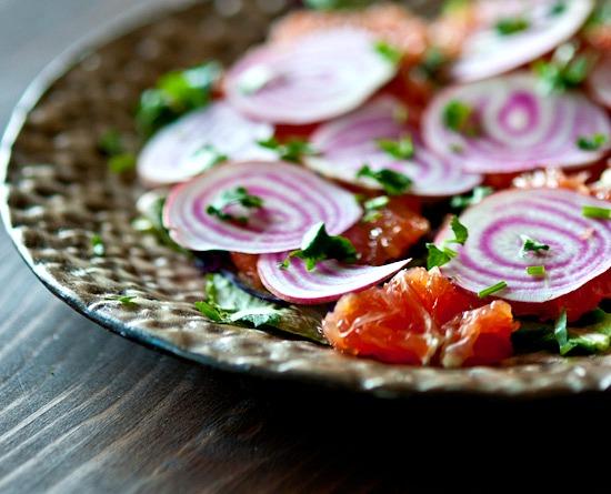 cilantro in salad