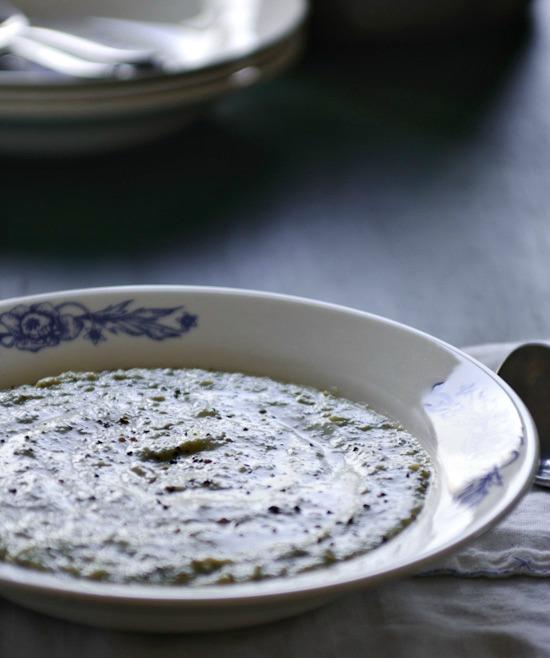 broccoli cheese soup | www.healthygreenkitchen.com