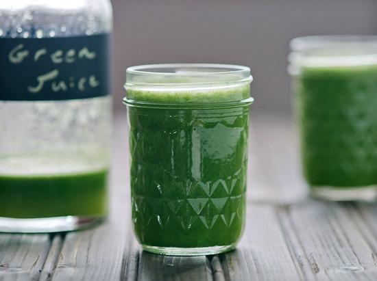 juiced greens