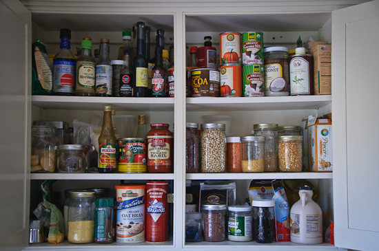 Healthy Green Kitchen One Simple Change: Pantry Revamp