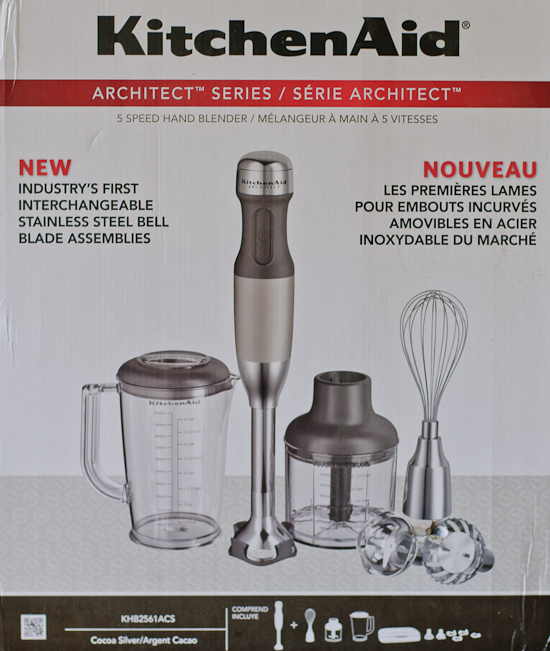 Kitchen Aid Immersion Blender In Box