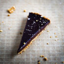 sea salted chocolate tart