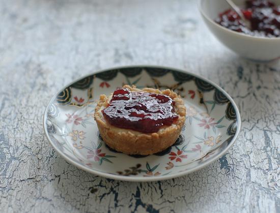 cheesy jam tarts