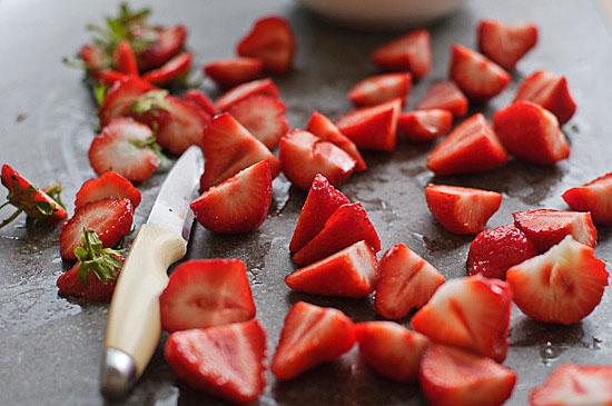 roasted strawberry agua fresca   healthy green kitchen