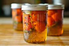 sweet pickled tomatoes