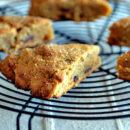 pumpkin date scones