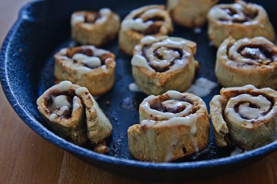 buckwheat cinnamon rolls