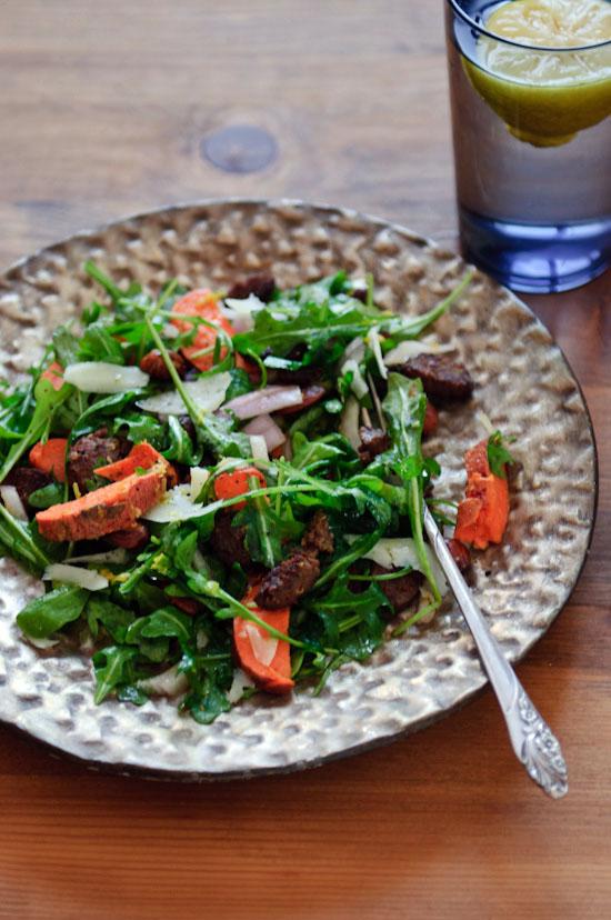 Healthy Green Kitchen chorizo salad