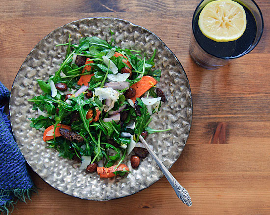 Arugula and manchego salad from Healthy Green Kitchen