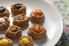 Grain-Free Thumbprint Cookies from www.healthygreenkitchen.com