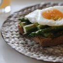 Poached Egg, Asparagus, Toast from Healthy Green Kitchen