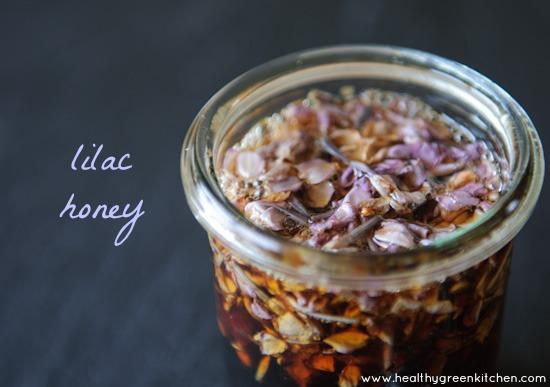 Lilac honey from www.healthygreenkitchen.com