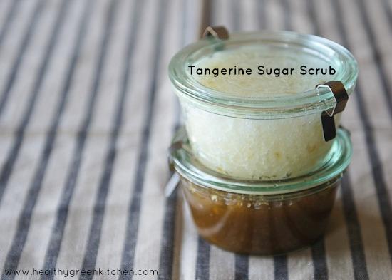 Tangerine Sugar Scrub from www.healthygreenkitchen.com