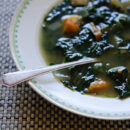 Spring Tonic Soup from Healthy Green Kitchen