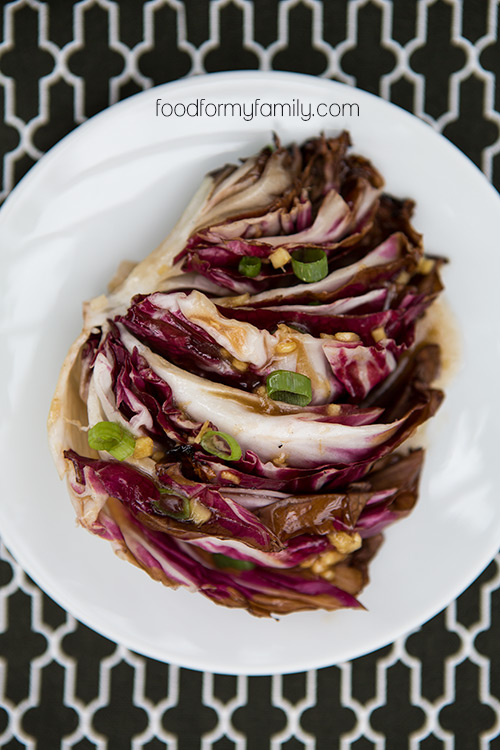 grilled-radicchio-honey-ginger-dressing-from food for my family - Copy