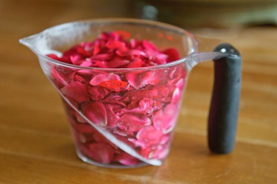 Rose petals from www.healthygreenkitchen.com